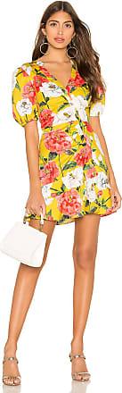 Parker Minna Dress in Lemon