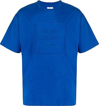 Opening Ceremony Camiseta com logo gravado - Azul