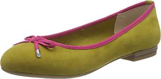 Marco Tozzi Womens 2-2-22135-34 Ballet Flats, Green (Lime Comb 764), 6.5 UK
