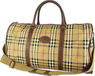 4a857454c8ae Burberry Nova Check Boston Duffle 2way 230031 Beige Coated Canvas  Weekend travel