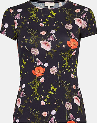 Ted Baker Tailliertes T-shirt Mit Hedgerow-print