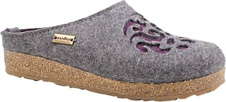 Haflinger 711057-3-204 Grizzly Dream Unisex-Adult Slippers, schuhgröße_1:41 EU, Farbe:Grey