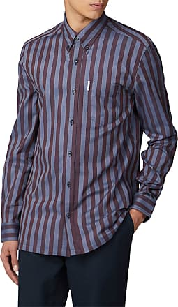 Ben Sherman Mens Brown Casual Shirt in LGE to XXL
