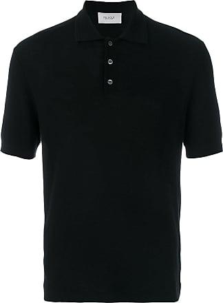 Pringle Of Scotland knitted polo shirt - Preto
