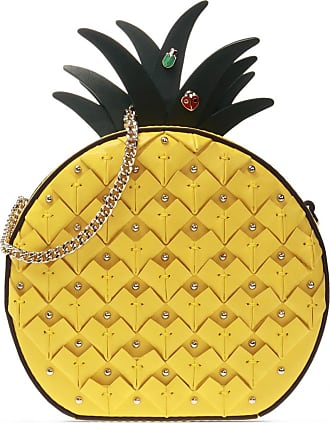 Kate Spade New York Pineapple Shoulder Bag Womens Yellow