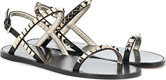 Valentino Rockstud No Limit leather sandals