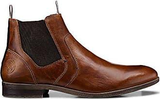 2fbebb7f3472ae Cox Herren Herren Chelsea-Boots in Braun aus Leder