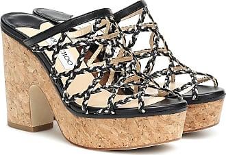Jimmy Choo London Dalina 100 plateau sandals