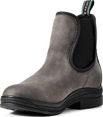 Ariat Womens Keswick Waterproof Boots in Shadow Leather, B Medium Width, Size 3.5, by Ariat
