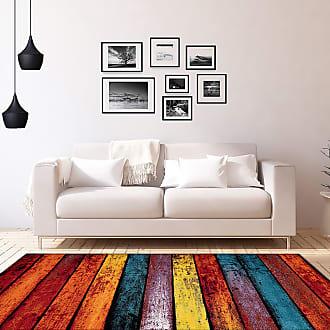 Kayoom Kurzflorteppich Thailand Singburi Mehrfarbig Rechteckig 120x170 cm (BxT) Gestreift Kunstfaser