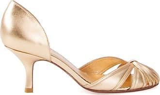 Sarah Chofakian round-toe pumps - Effetto metallizzato