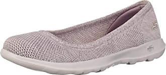 Skechers Womens GO Walk LITE-16352 Ballet Flat Lilac 11 M US