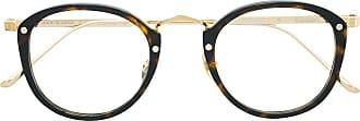 Cartier Armação de óculos arredondada - Marrom
