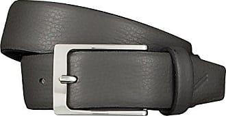 Strellson Gürtel Herrengürtel Ledergürtel Grau 5948