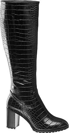 Damen Stiefel von Catwalk in schwarz