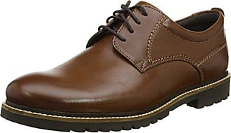 Rockport Marshall Plaintoe Oxford, Homme, Marron (Dark Brown Leather), 43 EU 3642022bed7a