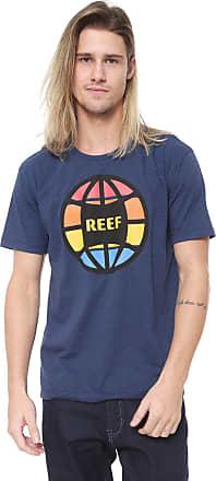 Reef Camiseta Reef Global Azul-marinho