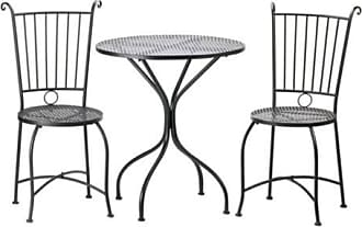 Zingz & Thingz Zingz and Thingz 3 Piece Patio Bistro Set in Black