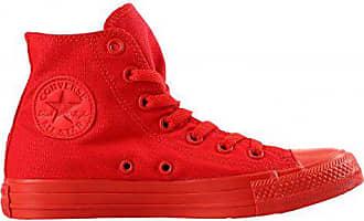 e07f580d1e027d Converse ALL STAR HI MONOCHROME 152702C Red Sneakers Unisex-44