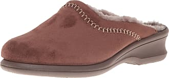Rohde Farun, Womens Open Back Slippers Open Back Slippers, Brown, 6 UK (39.5 EU)