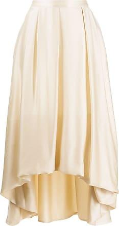 Fabiana Filippi high-waisted flared skirt - NEUTRALS