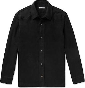 Our Legacy Cotton-moleskin Shirt - Black