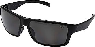 Zeal Optics Incline (Matte Black w/ Polarized Dark Grey Lens) Athletic Performance Sport Sunglasses
