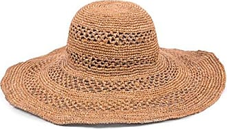ále by Alessandra Womens Camille Intricate Weave Toyo Floppy Sunhat, Fawn, One Size