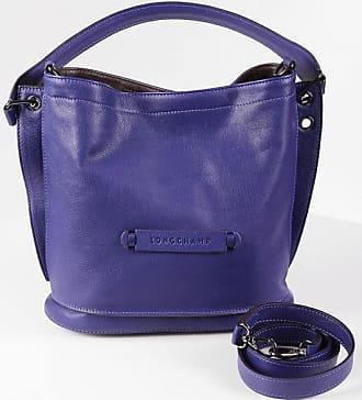 Longchamp Leather Bucket Bag size Unica