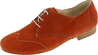 Semler Mandarine A4098040096 Womens Low Shoe Lace Up Business Shoes Orange Size: 6.5 UK