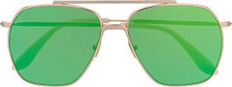 Acne Studios Green Green Metal Sunglasses - The Webster