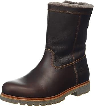 874b20a8bed3ba Panama Jack Mens Fedro Igloo Biker Boots Brown (Castaño C10) ...