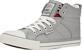 403eff11defb08 British Knights Unisex-Erwachsene ROCO Hohe Sneaker Grau (Lt Grey Union  Jack 3