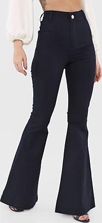 Triton Calça Jeans Triton Flare Lisa Azul-Marinho