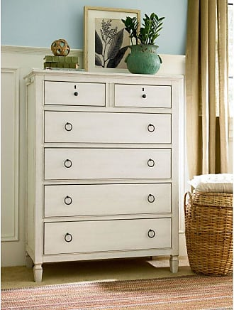 Universal Furniture Summer Hill 6 Drawer Chest - Cotton - 987140