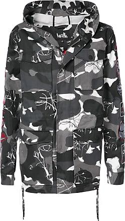 Haculla Kustom camouflage coat - Grey