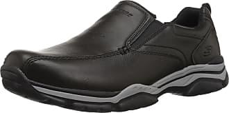 Skechers Men 65415 Moccasins, Black (Black), 12 UK (47.5 EU)
