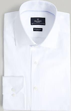 Hackett Mens Royal Oxford Button Cuff Cotton Shirt | Size 145 | White