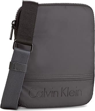 c70377c457 Calvin Klein MENS K50K502881009 GREY POLYESTER MESSENGER BAG