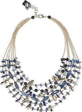 Rosantica Rosantica Woman Gold-tone Stone Necklace Blue Size