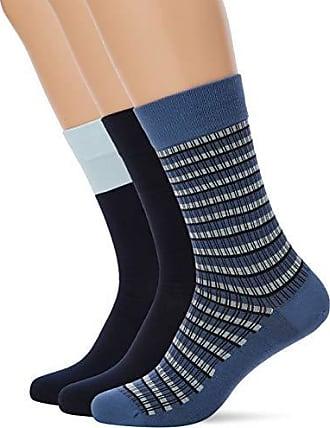 1d7b31b56d8 Dim MI-Chaussette Rayures Mixtes Coton Style X3