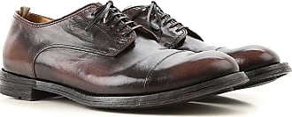 Officine Creative Lace Up Shoes for Men Oxfords, Derbies and Brogues On Sale, Dark Brown, Leather, 2017, 10 7.75 8