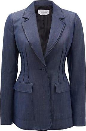Gabriela Hearst Minos Single-breasted Linen-denim Jacket - Womens - Denim