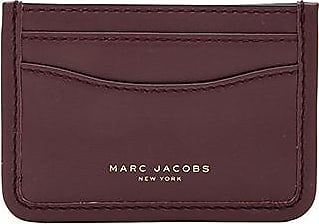 Marc jacobs business card holders sale up to 65 stylight marc jacobs madison card case in burgundy colourmoves