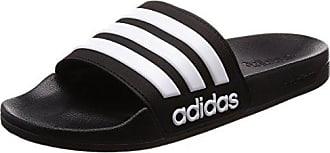 watch f97ce 6da8d adidas Herren Adilette Shower Dusch- Badeschuhe, Schwarz (Core  BlackFootwear White