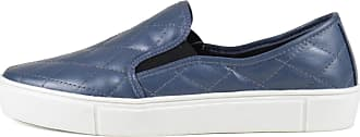 Balaia Sneaker Balaia em couro Matelasse Azul Jeans MOD244