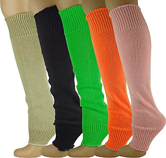 MySocks Leg Warmers 5 Pairs Plain