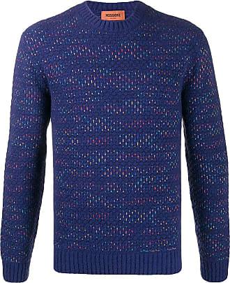 Missoni Suéter com padronagem - Azul