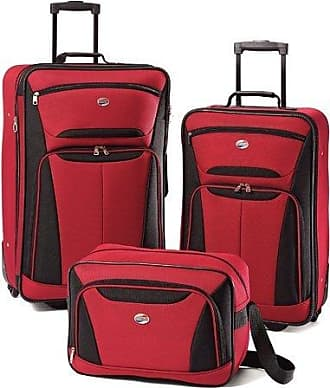 American Tourister Softside Spinner Luggage Set (3-Piece)