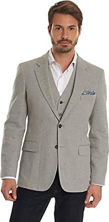 Robert Graham Mens Marty Tailored Fit Sportcoat, Grey, 42